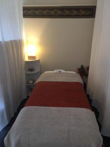 table de massage à l'huile à Villeneuve